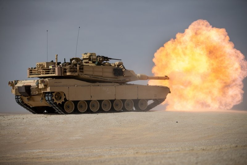 M1A1 Abrams Tank, courtesy of www.dvidshub.net